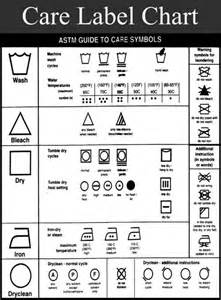 care label chart