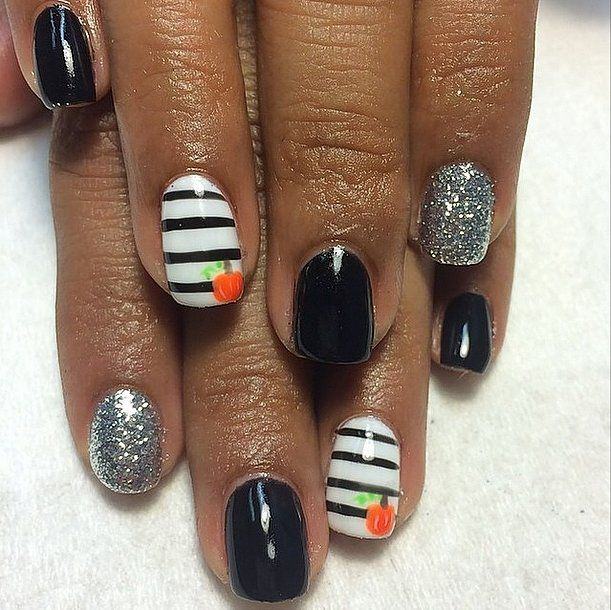 10 Creepy Halloween Nail Designs To Add To Your Costume Spooky