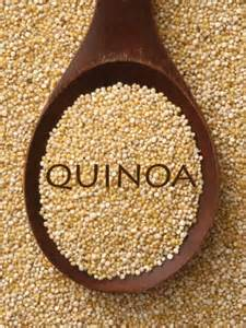 quinoa spoon