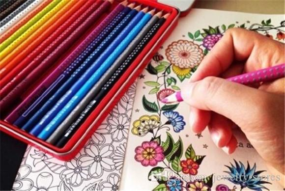 coloring is decoration - Best Colored Pencils For Coloring Books