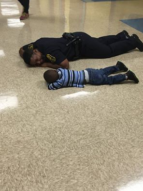 A Police Officer Noticed A Child Crying